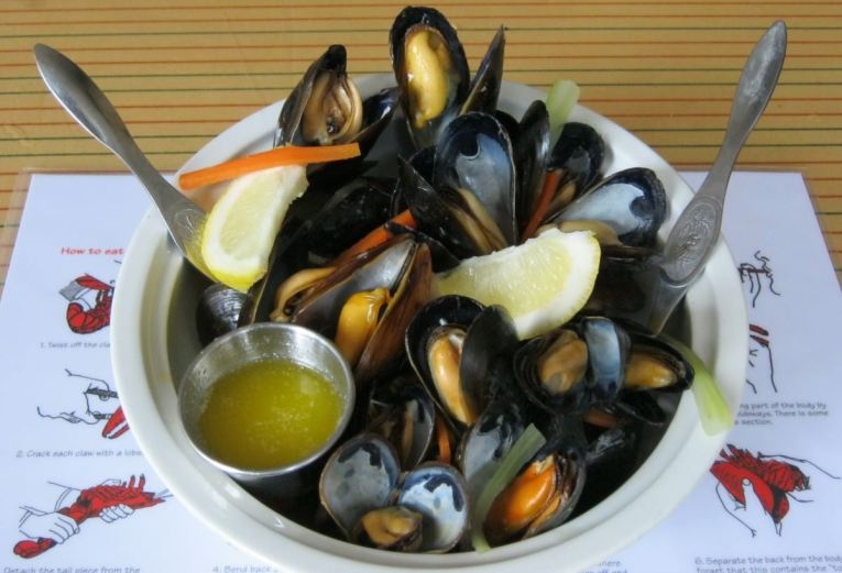 Mussels at Water Prince Lobster